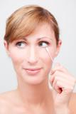 facial skincare poster