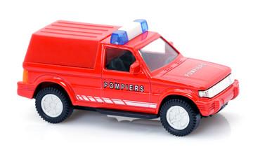Jouet d'enfant - véhicule de sapeurs pompiers