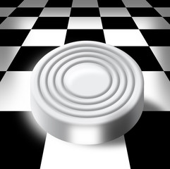Sword on a chess-board
