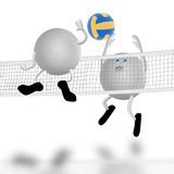 Fototapeta siatkówka - drużyna - Drużynowe