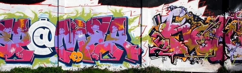 arobase en graffiti