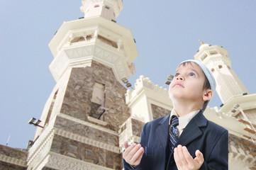 People on holy islamic duty in Makka, Saudi Arabia