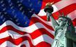 Fototapeten,amerika,details,fackel,fahne