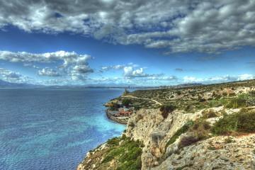 Panoramica Calamosca golfo Cagliari