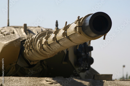 Tank Cannon - Barrel View