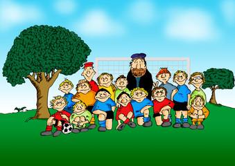 Jugend Fussballmannschaft @ zavadil.eu