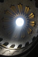 Ray Of Light Church Of the Holy Sepulchre - jerusalem - israel