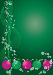 Decoration Background green