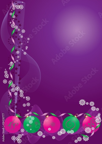 Decoration Background purple