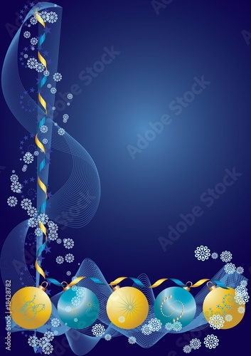 Decoration Background blue