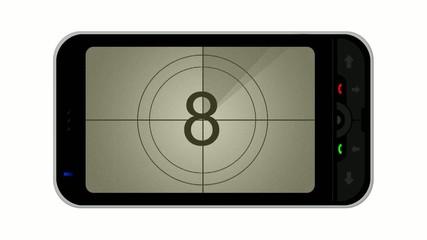 Smartphone countdown
