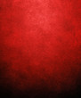canvas print picture - red paint background