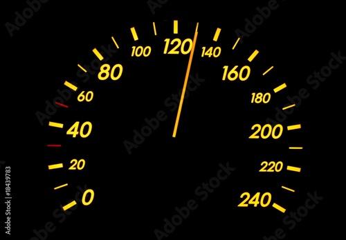 Poster Speedometer