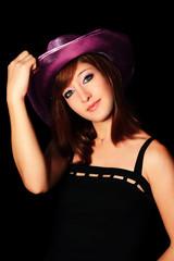 femme au chapeau 02
