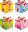 Cadeaux de couleur - Décoratif