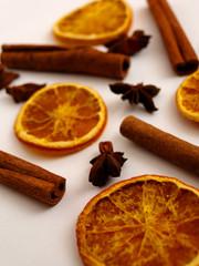 Zimt und Orange