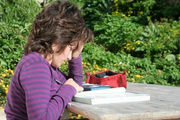 Studiare all'aperto