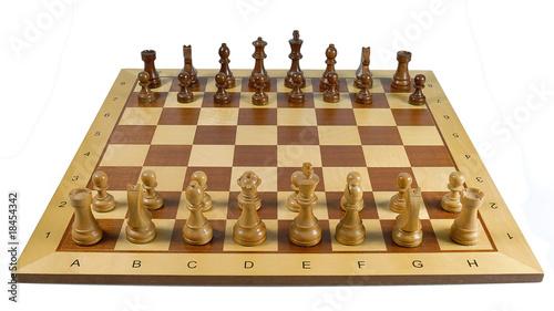 Schach Grundaufstellung