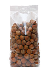 Pack of hazelnuts