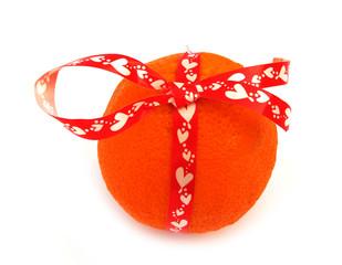 Orange for gift