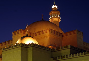Mosque in Evening