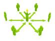 leading idea, green color