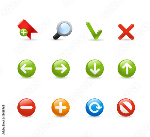 Gel Icon Set - 1 / Navigation