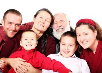 Big holiday family