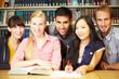 Glückliche Studenten