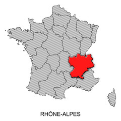 France - Rhòne-Alpes
