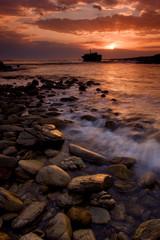 Sunset wreck1