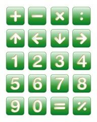 numeri e frecce