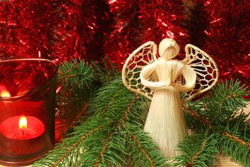 christmas praying angel