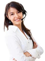 Business customer support operator