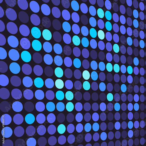 Background with blue dots