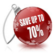 Save 70% bauble