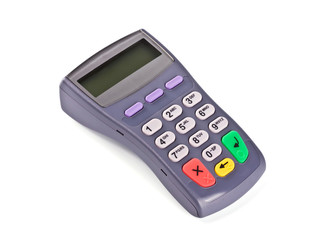 The PIN-pad, keyboard for client, electronic payment