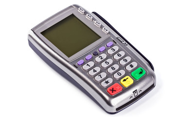 The payment terminal  for payment of purchases