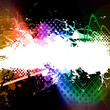 Rainbow Splatter Layout