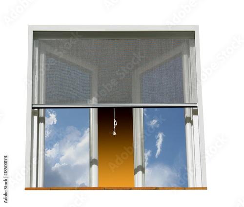 Fenêtre et moustiquaire - 18500173