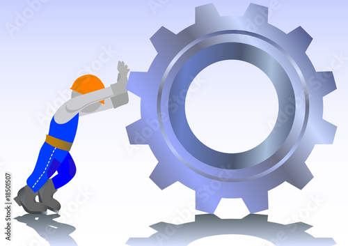 poster of Working at factory