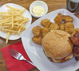 Fastfood Gericht