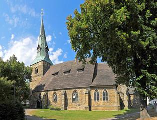Die St. Andreas-Kirche in Springe