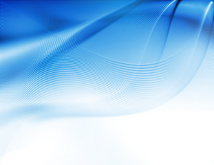 abstract artistic blue 3-d wallpaper