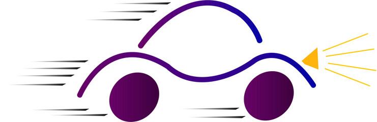 auto in corsa