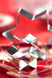 star cutter on Christmas atmosphere poster