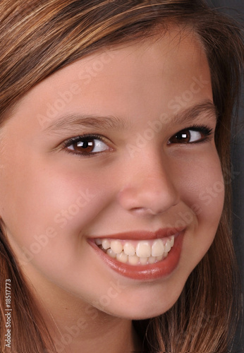 Beauty of youth happy big smile by Frank, Royalty free stock photos