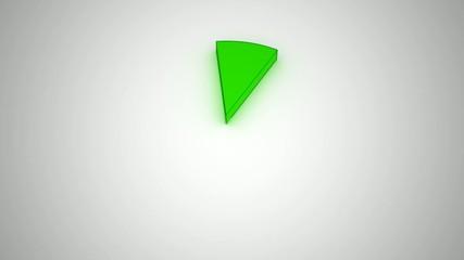 Kuchendiagramm Animation