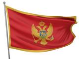Montenegro National Flag poster