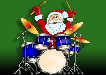 Weihnachtsmann Schlagzeug @ zavadil.eu
